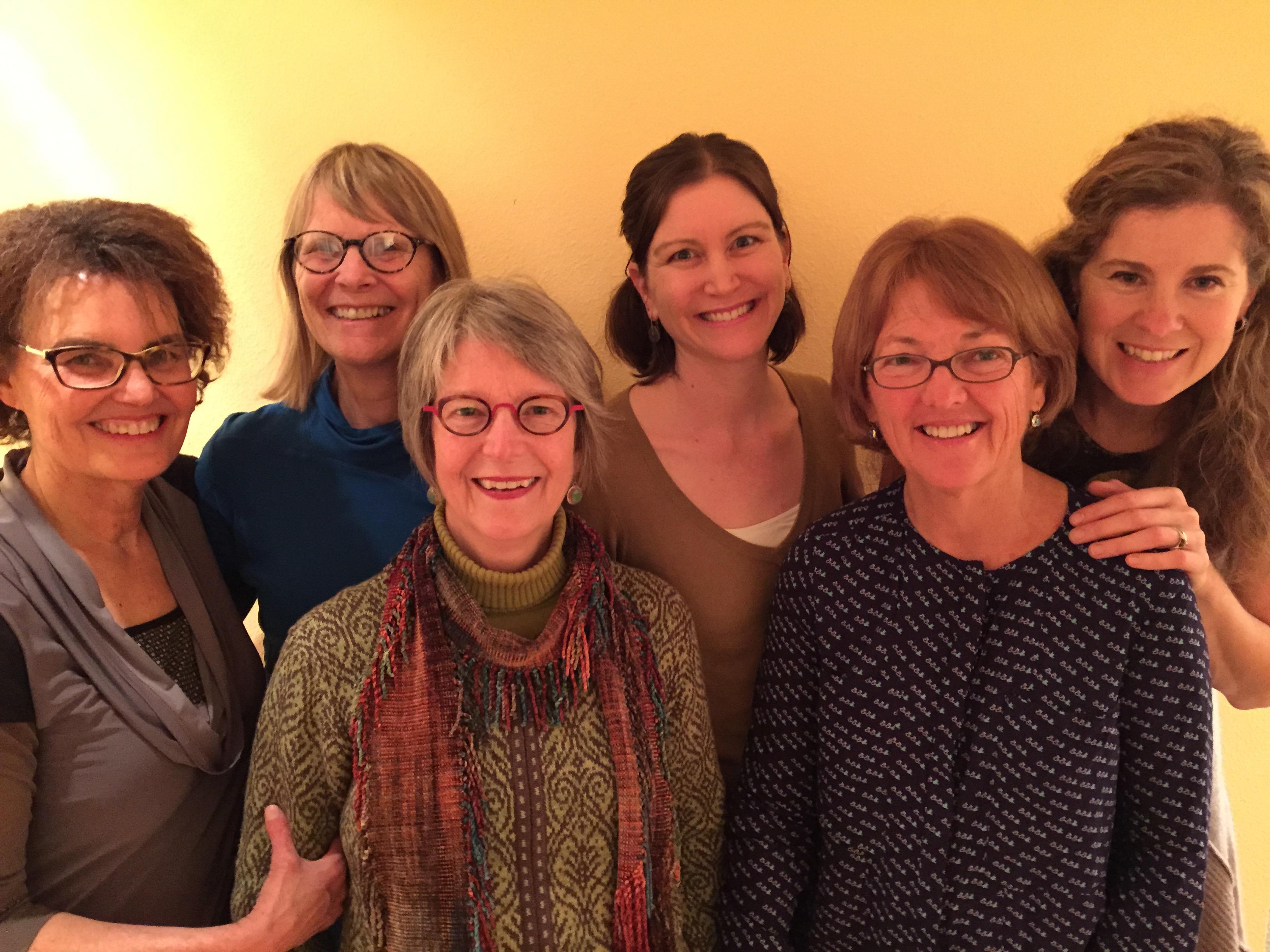 2015 SFP team: Diana Lindsay, Lynn Willeford, Shannon Arndt, Heather Racicot, Rene Neff and Debora Valis