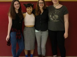 WOW sisters: Annie Saltee, Cat Ballestrasse, Katyrose Jordan, Mara Bush