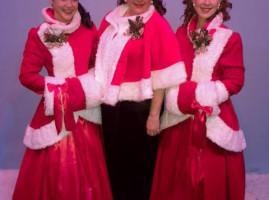 WICA cast: Linda McLean, Kendra Lyons, Betsy Harvey